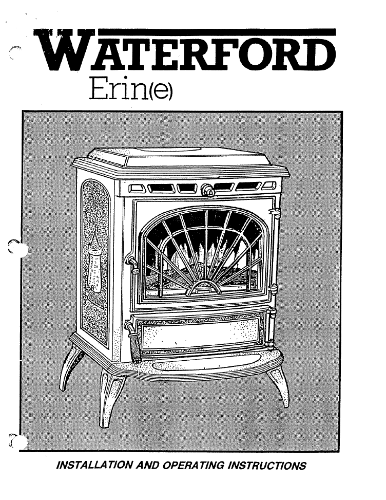 Waterford Erin E User Manual Wood Wfeews