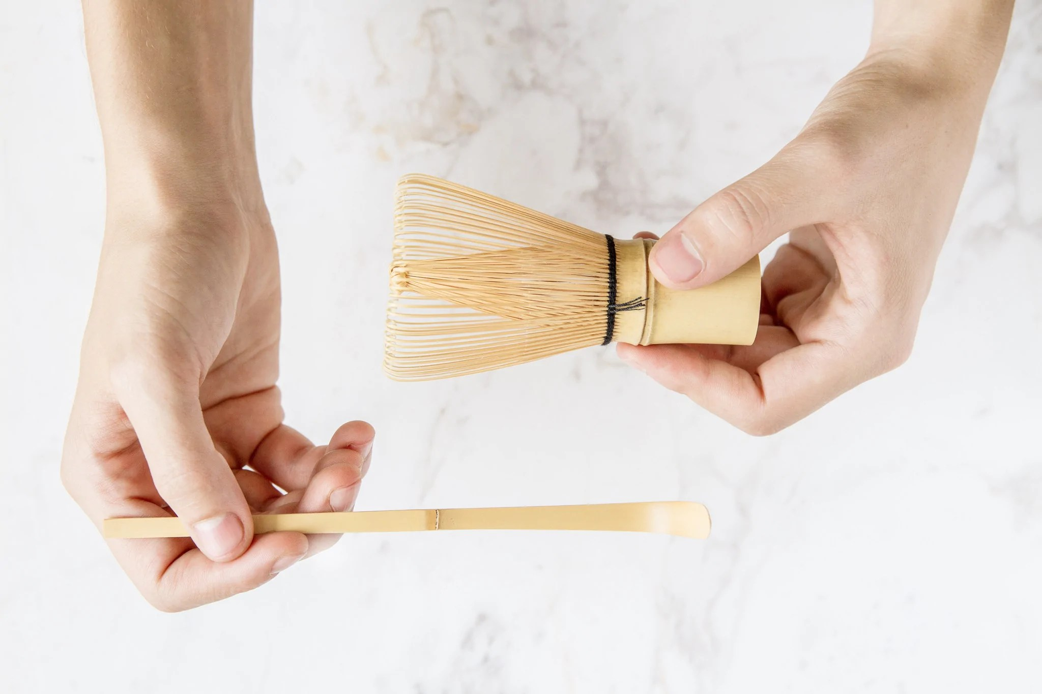set d accessoires en bambou