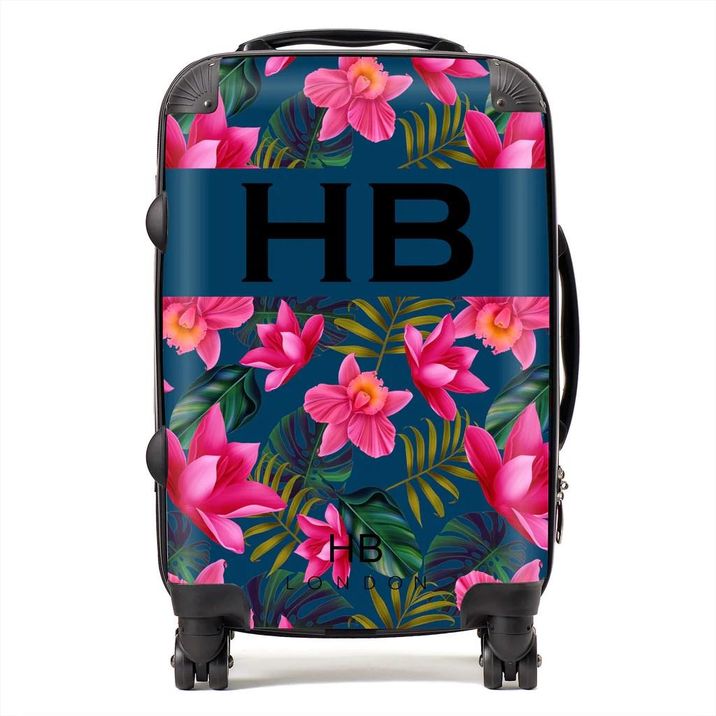 HB LONDON - The ORIGINAL Initial Suitcases | Personalised ...