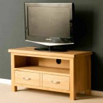 London Oak Small Tv Stand Screens Up To 40 Light Oak Roseland Furniture