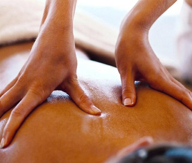 Sensual Massage Using Coconut Oil