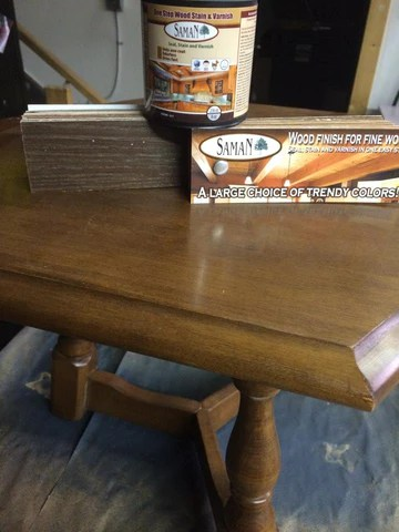 How To Stain Without Stripping Using Saman Hybrid Stains Superior Paint Co