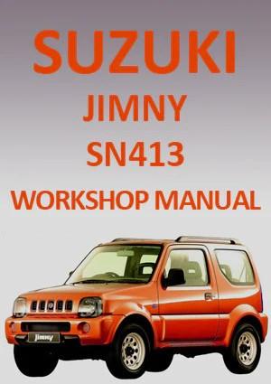 SUZUKI Sierra SJ413 & Samurai JAS51 19841990 Workshop