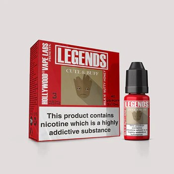 LEGENDS™ - Cute & Buff Milk and Nutty Honey - 3 x 10ml