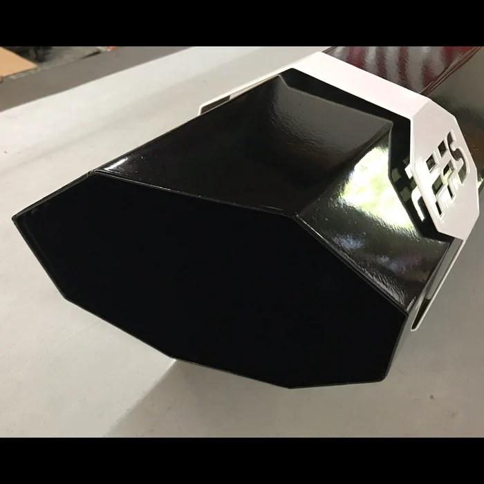 8 octagon 36 axle dump exhaust tip