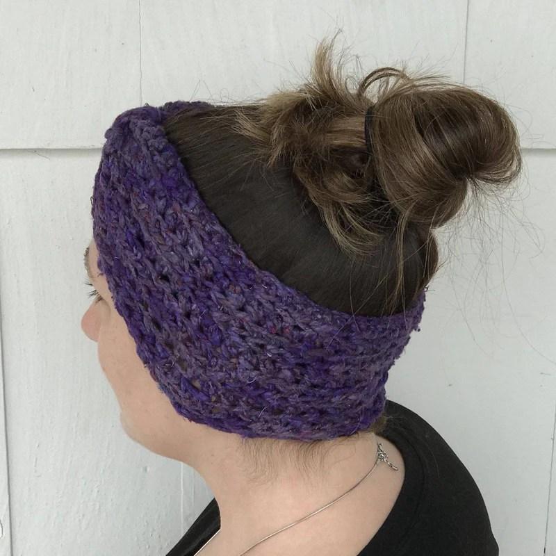 Bow Ear Warmer Crochet Kit Fancy Title Here Fancy Title Here