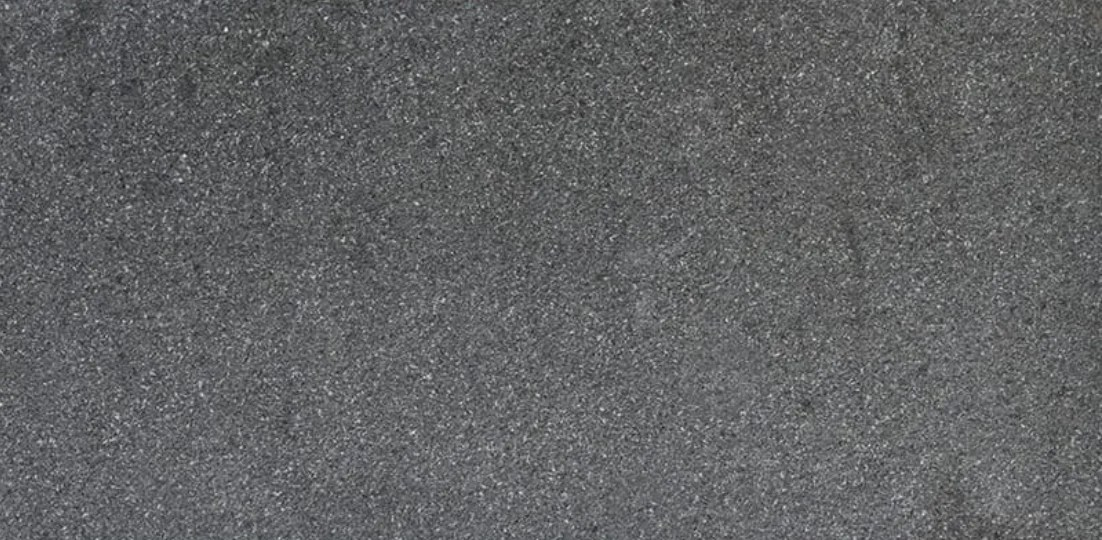 black absolute granite flamed 12x24