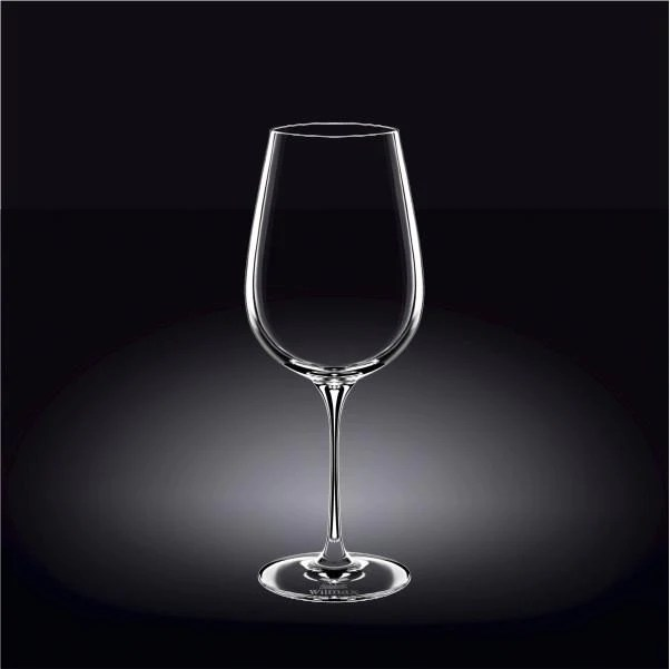 E Large Red Crystalline Wine Glass 24 Oz 700 Ml Set Of 2 In Co