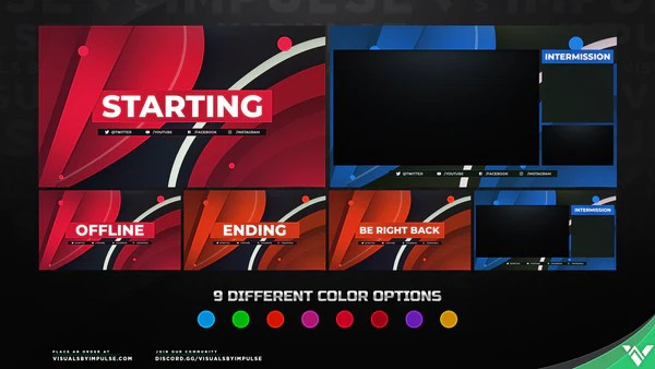 Spectrum Stream Screen Package Overlay Screens For