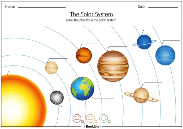 Free Solar System Activity Sheet – BookLife