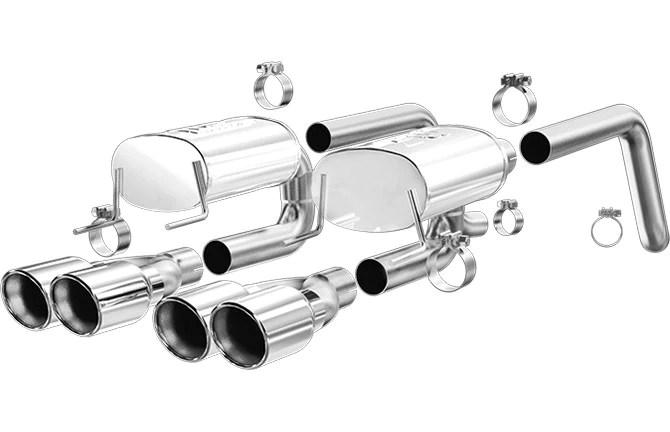 c6 corvette magnaflow street series exhaust 16593