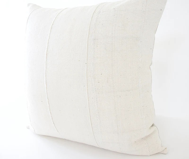 white african mud cloth pillow 22x22 homies