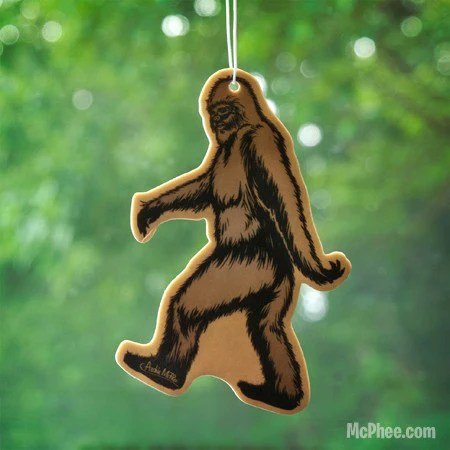 Bigfoot Air Freshener Archie McPhee Amp Co