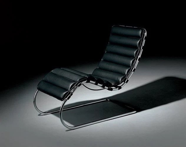 Classics Ludwig Mies Van Der Rohe S Lounge Chair Milk Concept Boutique