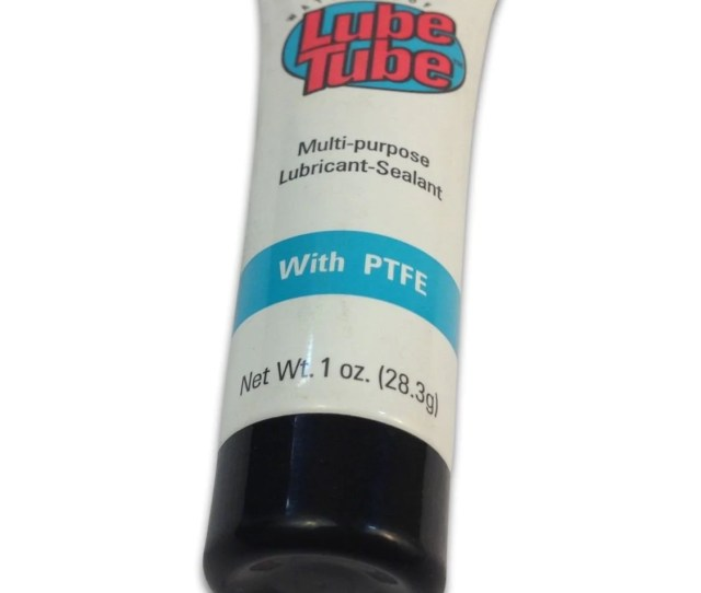 1 Oz Lube Tube Teflon Silicone O Ring Lubricant For Swimming Pool