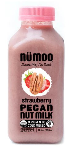 Strawberry Pecan Milk