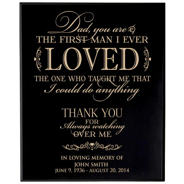 Download Personalized Wedding Memorial Gift, Sympathy Wall Plaque ...