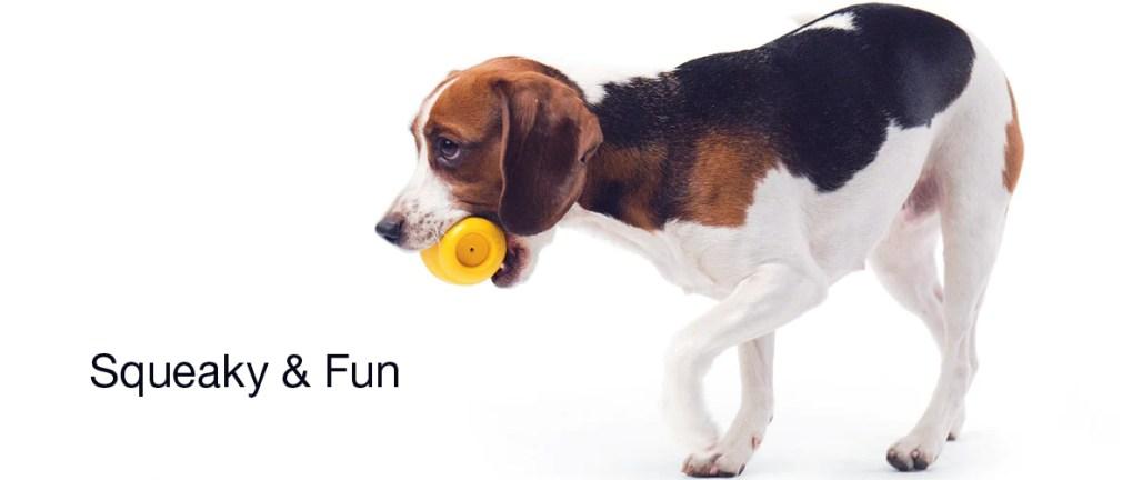 PETKIT - Squeaky Dog Toy ( YELLOW )