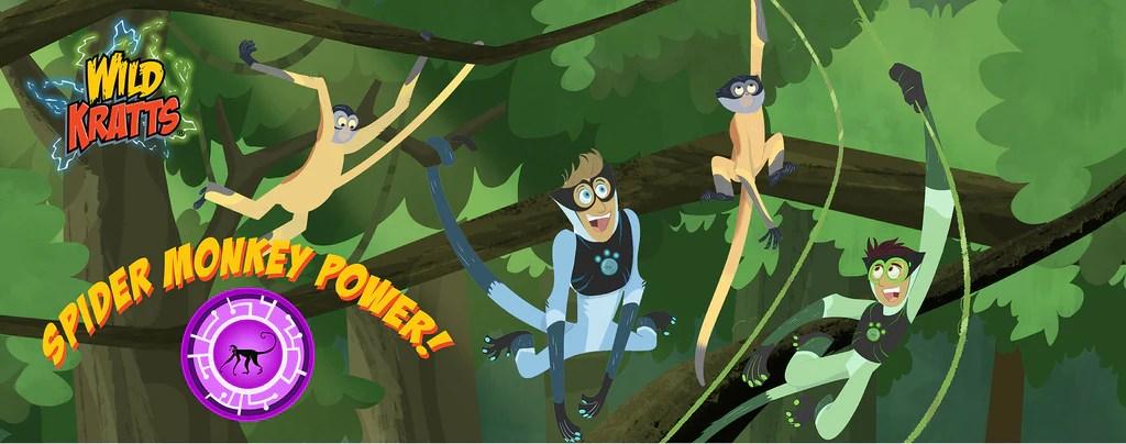 Wild Kratts Spider Monkey Power Lightheaded Beds