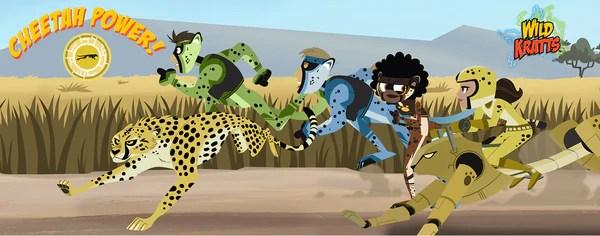 Wild Kratts Cheetah Power LightHeaded Beds