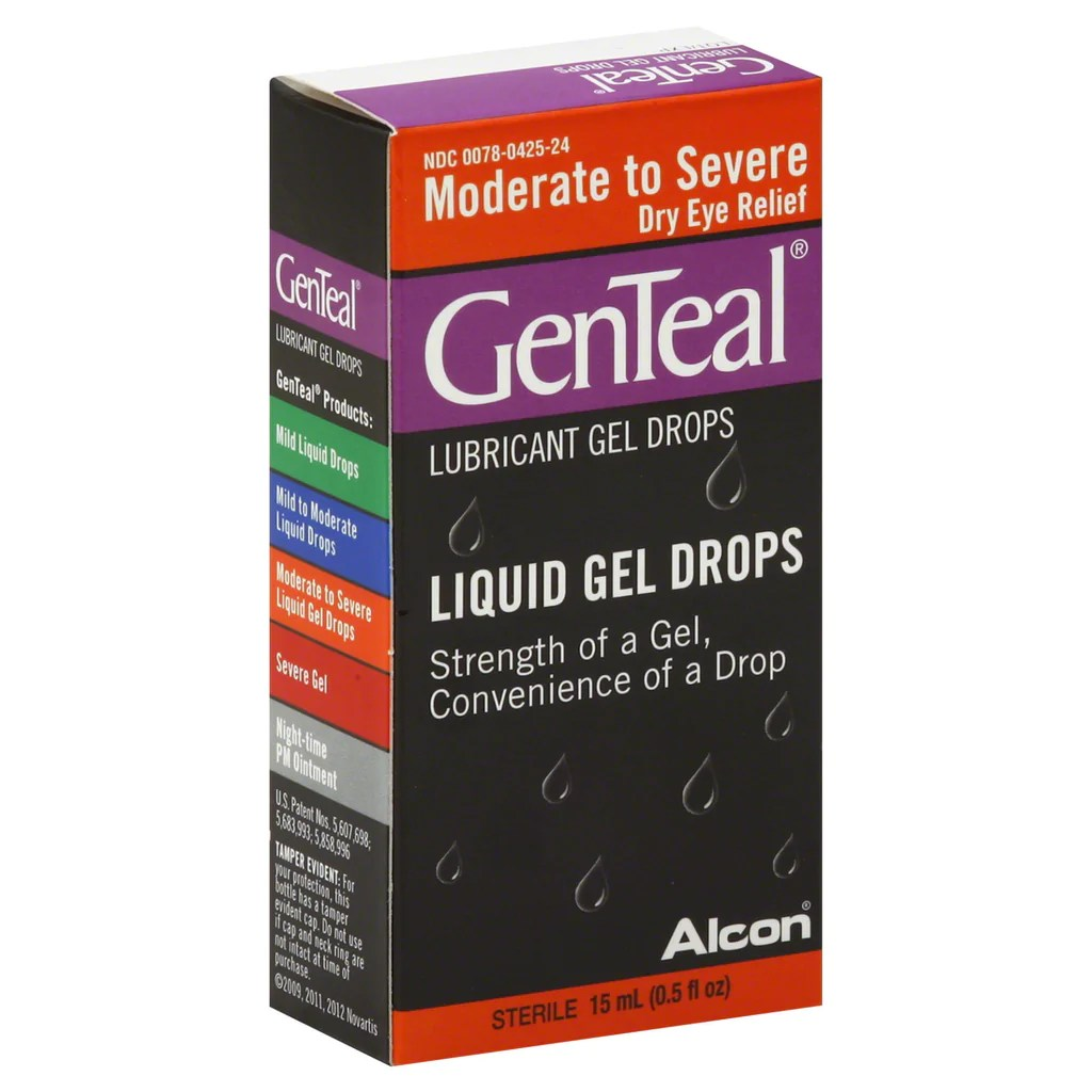 ... Lubricant Gel Drops, Moderate To Severe Dry Eye, 15 ml – PlanetRx
