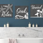 Relax Soak And Unwind Wall Art