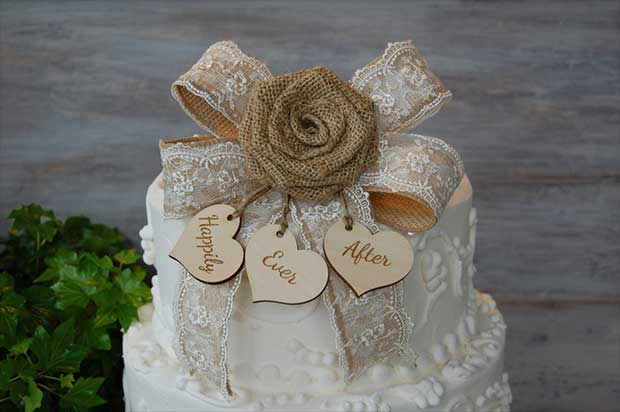 10 Rustic Wedding Cake Toppers Real Country Ladies