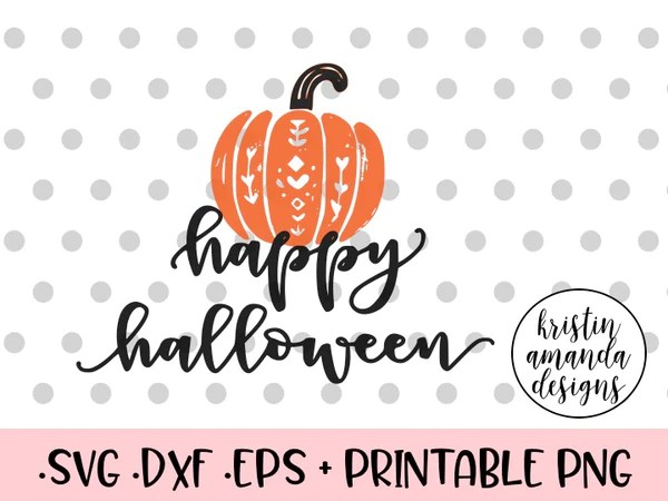 Download Happy Halloween Farmhouse SVG DXF EPS PNG Cut File ...