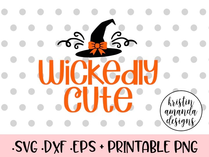 Download Wickedly Cute Halloween SVG DXF EPS PNG Cut File • Cricut ...