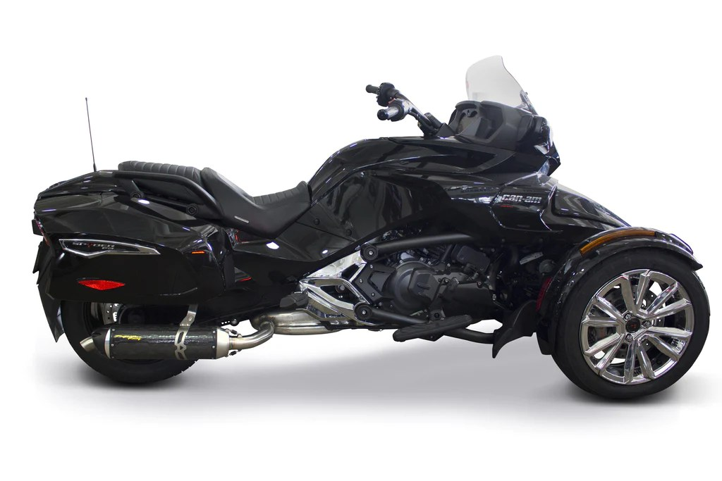 can am spyder f3t s1r slip on system 2015 2021