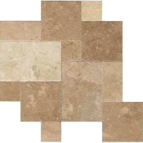 napa travertine versailles pattern textured