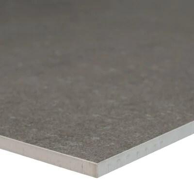 dimensions gris porcelain tile matte