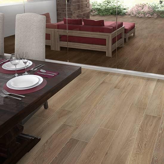 emerson wood butter pecan porcelain tile matte