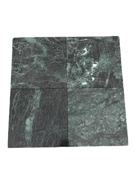 green marble tile polished