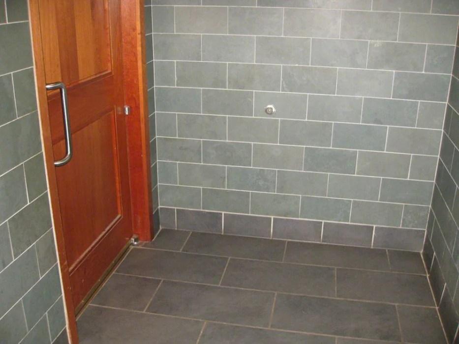 honed montauk blue slate tile stone