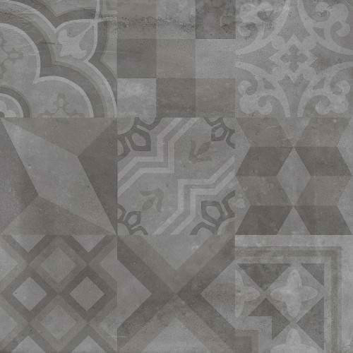 alive moderne dark deco porcelain tile matte