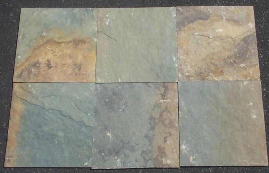 rusty green natural cleft face gauged back slate tile stone tile shoppe inc