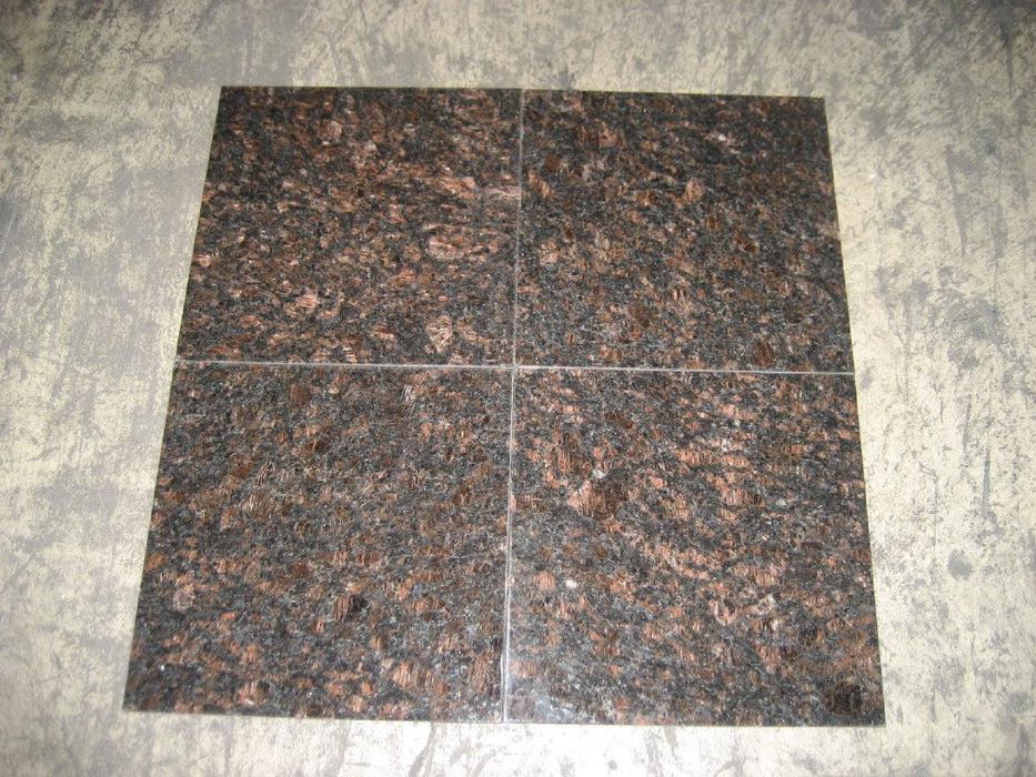 tan brown granite tile polished
