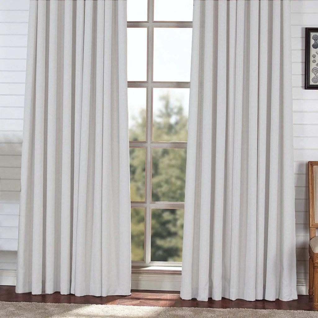 block light weight blackout curtains light gray