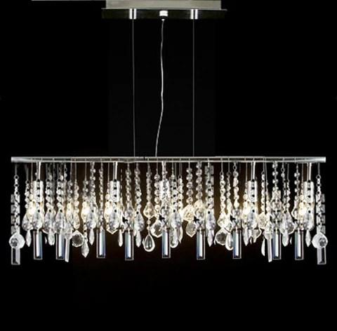 modern contemporary linear chandelier lighting lamp w crystal h58 x w38 g7 830 5