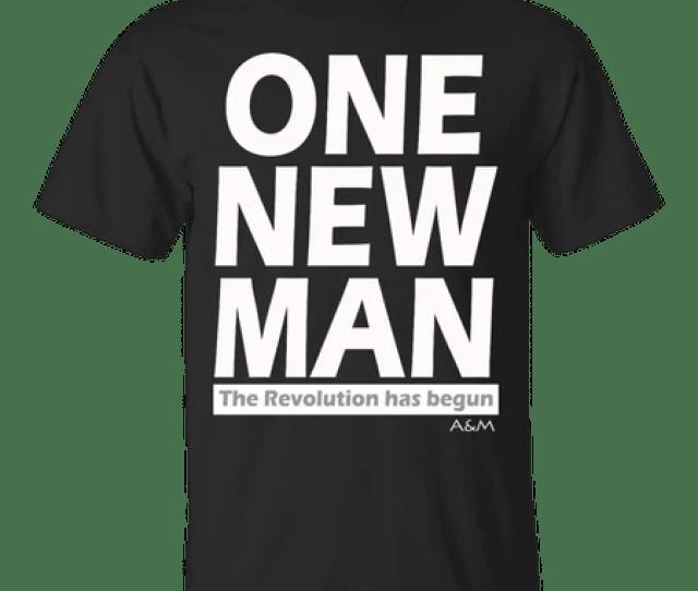 One New Man White Ultra Cotton T Shirt