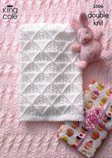 Aran Baby Blanket Crochet Book