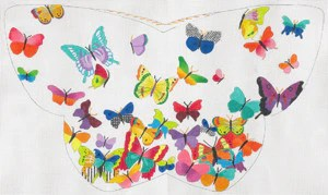 butterfly shaped pillow