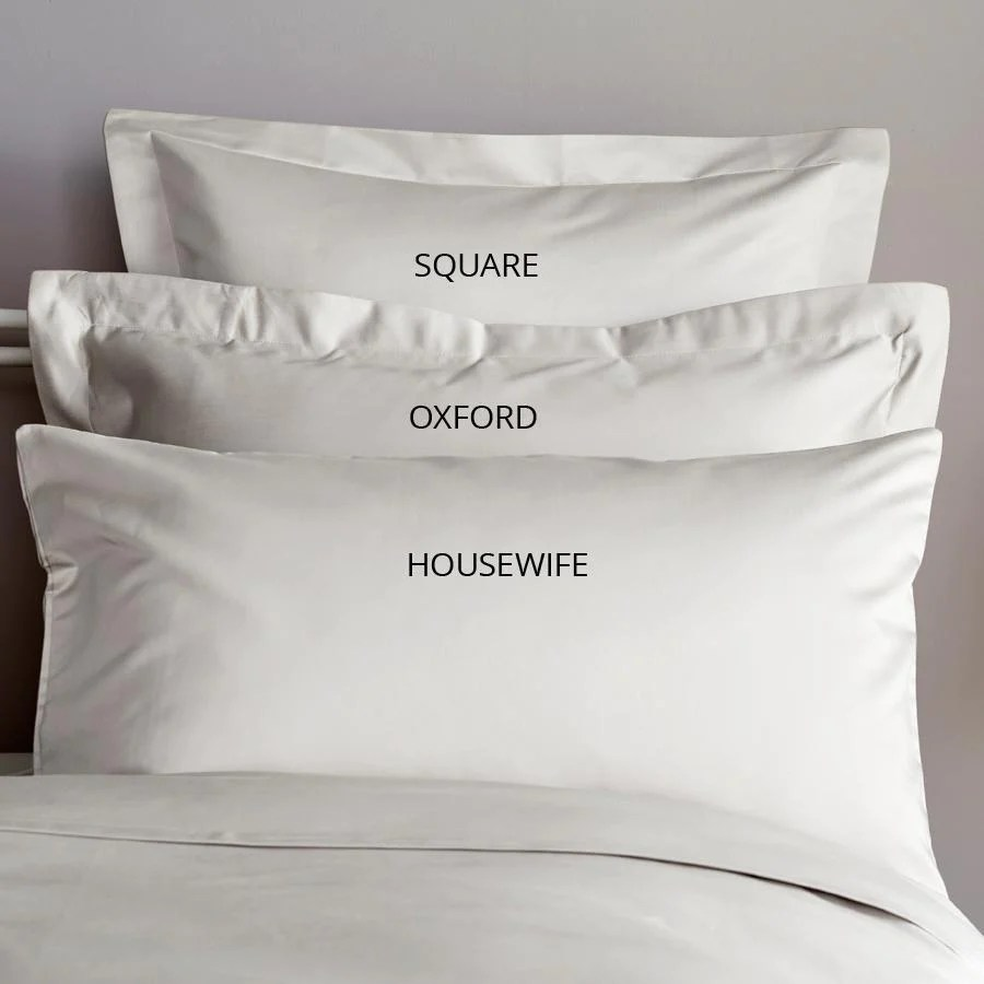 pillowcase sizes and terminology