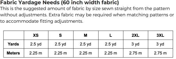 Tiana Blouse Fabric Yardage