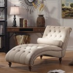 Luxorious Indoor Chaise Lounge Chair With Nailhead Trim And Accent Toss Pillow My Aashis