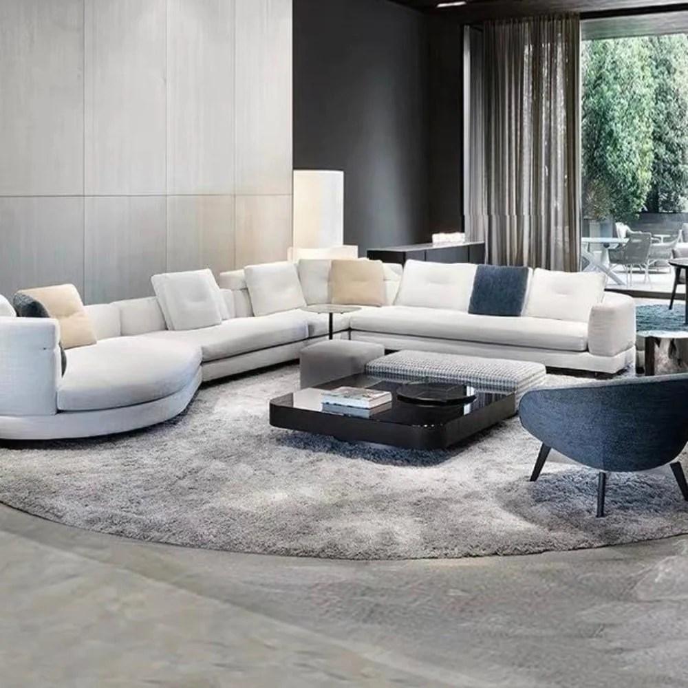 Aspettano solo di essere provati e arredare il vostro nuovo bel salotto. Modern Luxury Fabric Soft Sofa My Aashis