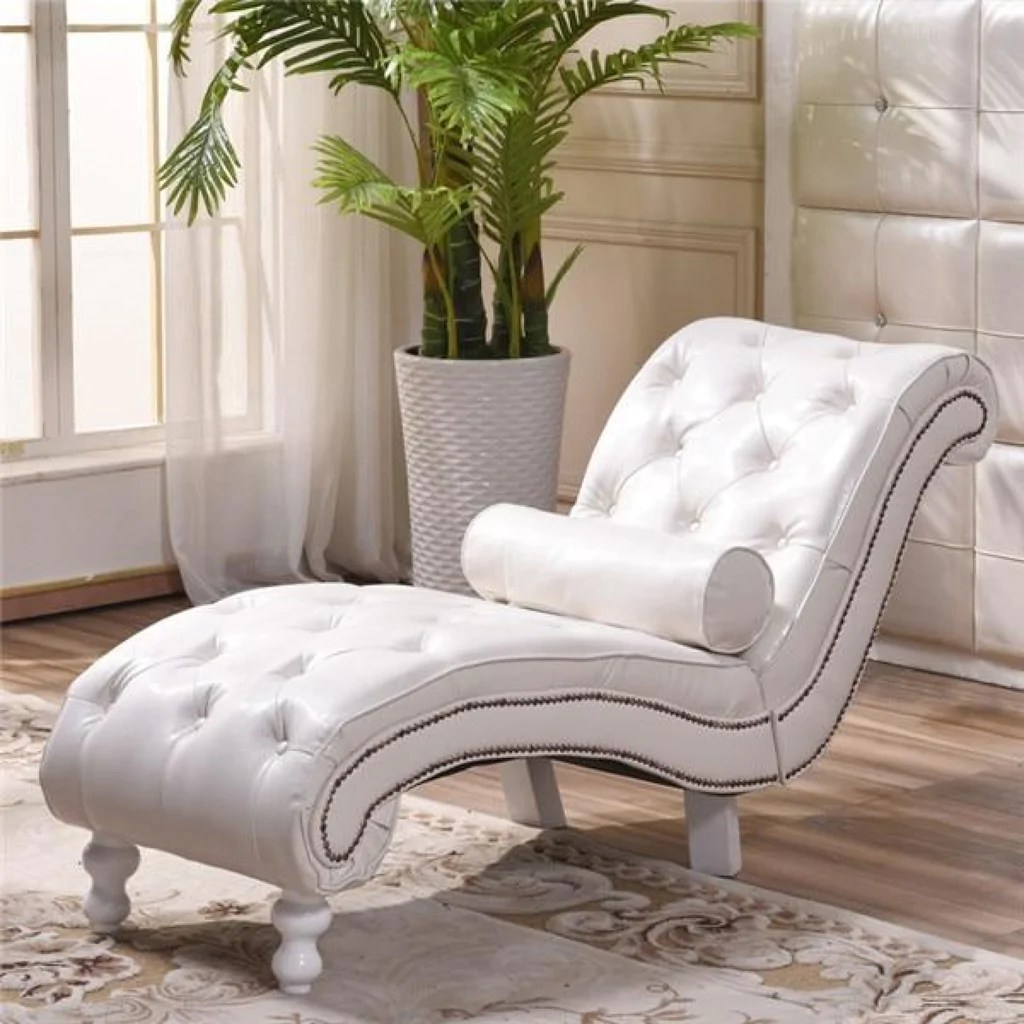 Premium Patio Tufted Chaise Lounge Daybed Chair