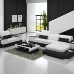 Modern Design L Shaped Sectional Sofa Genuine Leather Luxury