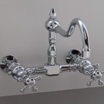 Shop For Vintage Wall Mount Kitchen Faucets Rustic Sinks
